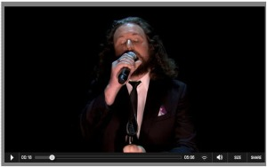 Jim James on Fallon