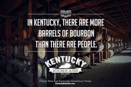 More Bourbon Barrels than People