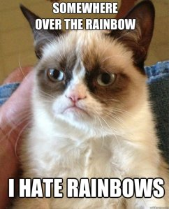 i hate rainbows