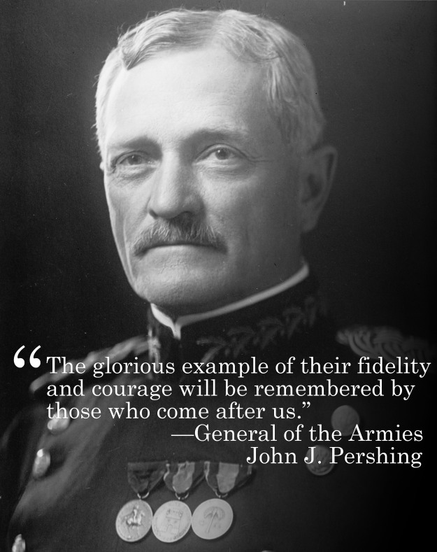 black jack pershing quotes