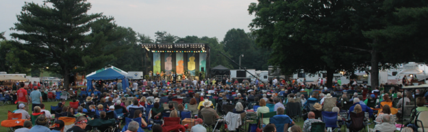 Photo courtesy of the Festival of the Bluegrass website.