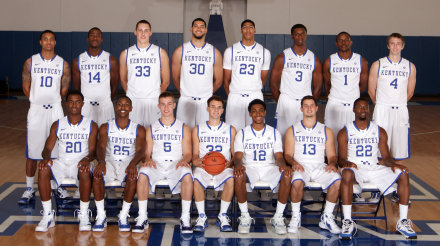 UK men's basketball photo day 2011-12, John Calipari, UK Basketball, UK men's basketball team photo