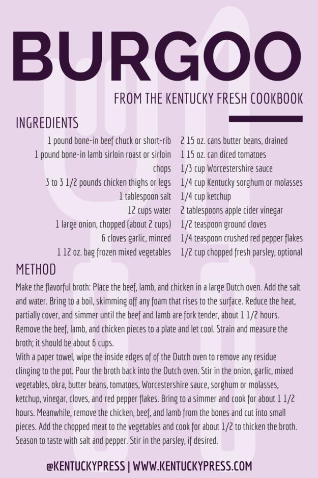 Kentucky Fresh Burgoo