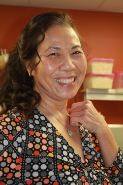 Flavors from Home - University Press of Kentucky Coco Tran in her Roots and Heart & Soy kitchen