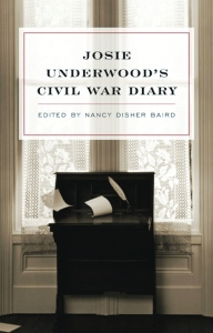 Cover of Josie Underwood's Civil War Diary