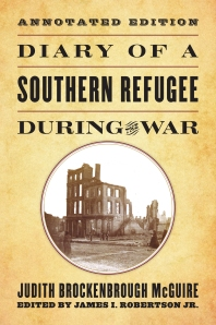 Cover of Diary of a Southern Refugee during the War