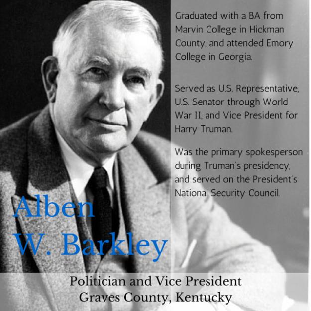 Alben W. Barkley Kentucky