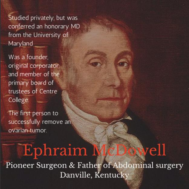 Ephraim McDowell Kentucky