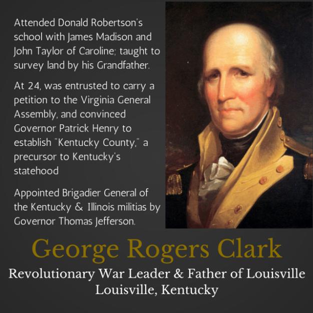 George Rogers Clark Kentucky