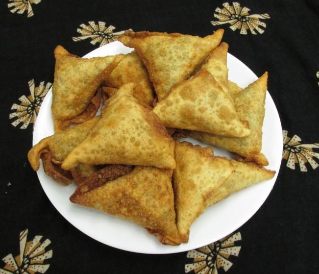 Flavors from Home Aimee Zaring Amina's Sambusas