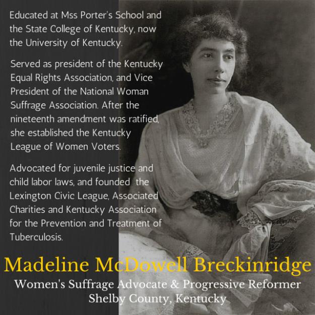 Madeline McDowell Breckinridge Kentucky