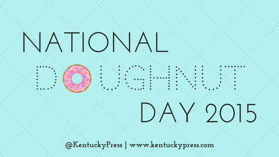 University Press of Kentucky National Doughnut Day