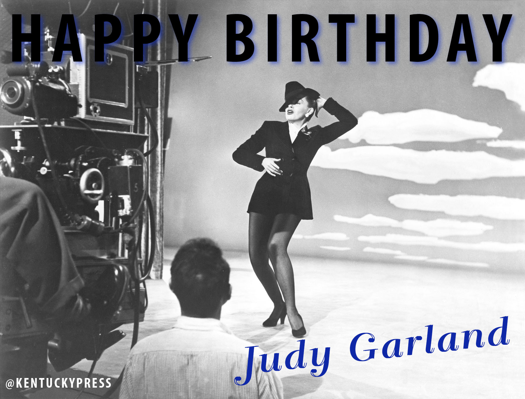 "C\'mon ""Get Happy,"" It\'s Judy Garland\'s Birthday! | The University ..."