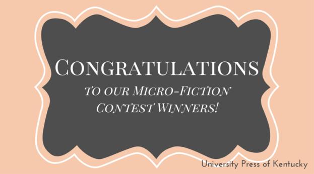 Congratulations Writing Contest Winners