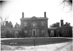Henry Clay's estate, Ashland, exterior (Photo courtesy of UK Libraries).
