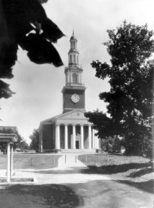 Memorial Hall (Photo courtesy of UK Libraries).