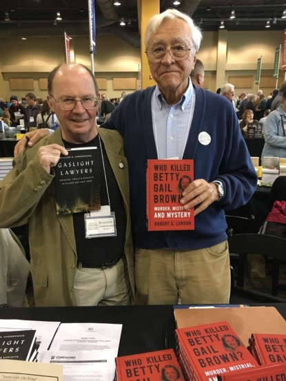 Richard Underwood and Bob Lawson at KBF '17