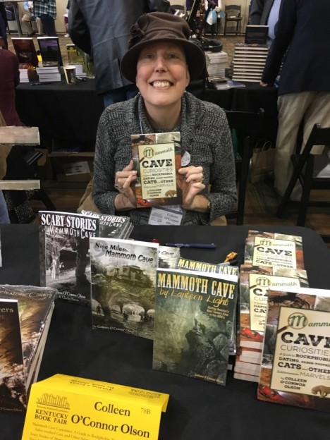 Colleen Olson signing